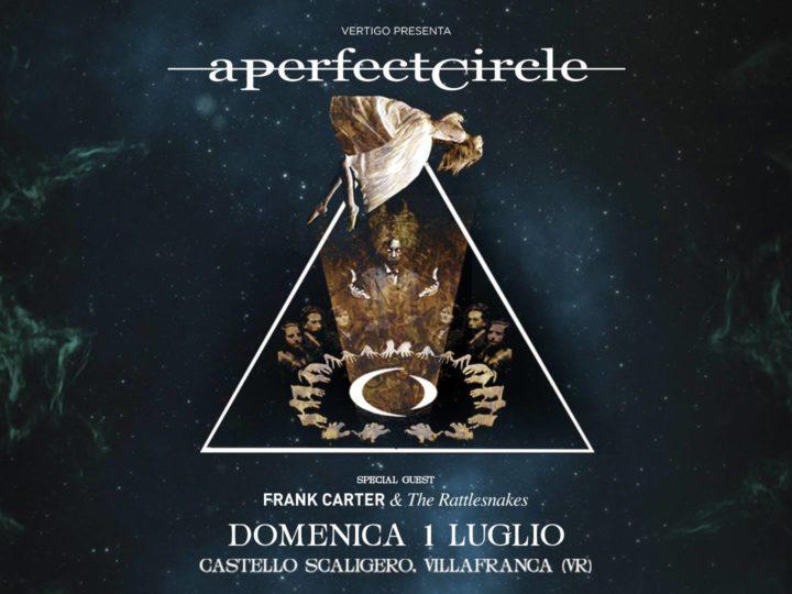 A Perfect Circle live @ Castello Scaligero Villafranca (Ve)