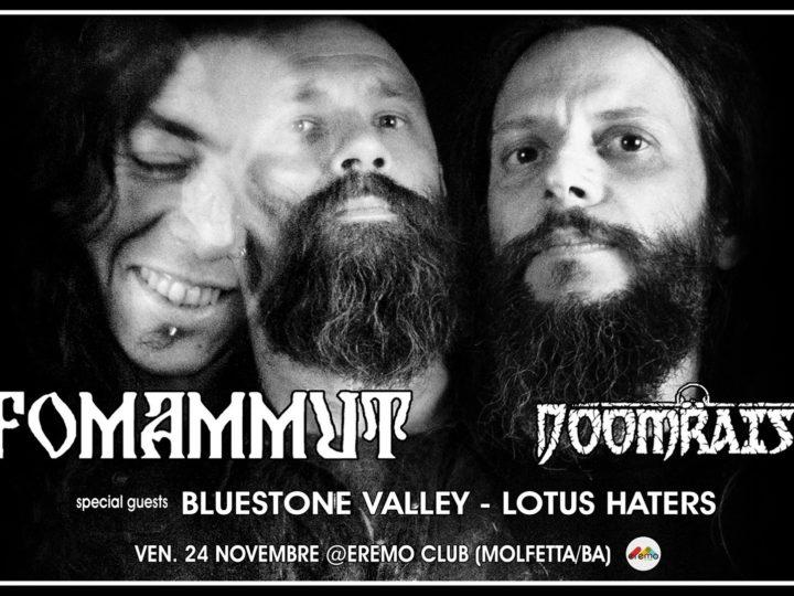 Ufomammut + Doomraiser + Bluestone Valley + Lotus Heaters live @ Eremo Club, Molfetta (BA)