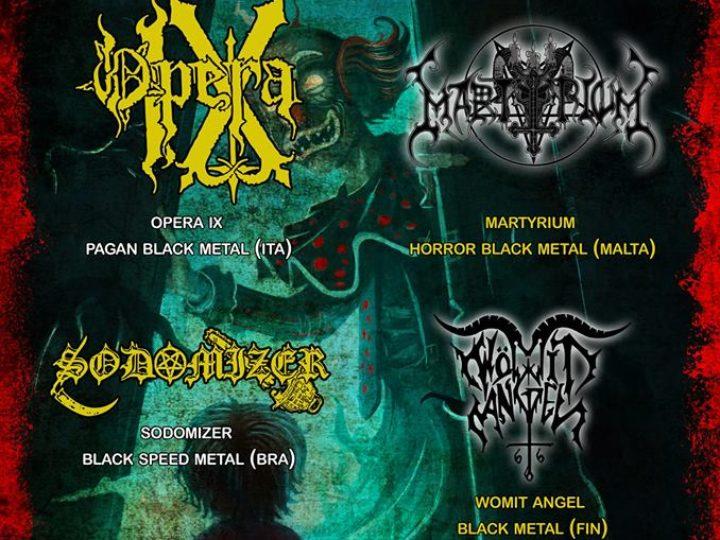 Metal Circus 6: Opera IX+Martyrium+Sodomizer+Womit Angel live @ Groove Live, Foggia