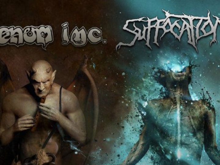 Venom Inc. e Suffocation, annunciato il tour europeo da co-headliner!