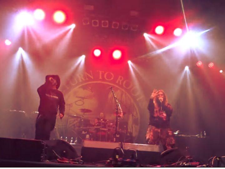 David Vincent, sul palco con i fratelli Cavalera per un classico dei Motorhead