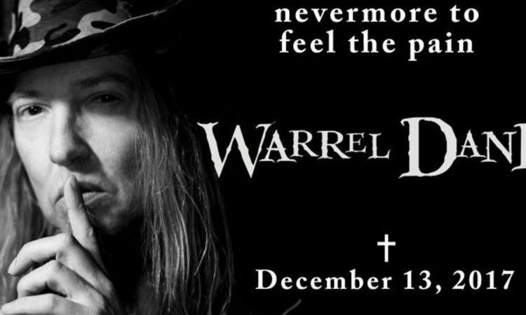 Warrel Dane, la veglio funebre sarà trasmessa in streaming live