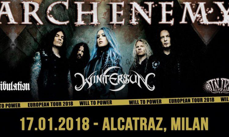 Contest, vinci biglietti per gli Arch Enemy a Milano