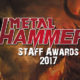 Metal Hammer Staff Awards 2017
