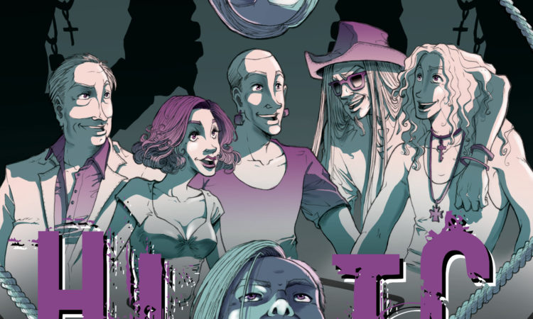 Hell In The Club, la graphic novel scritta da membri di Hell In The Club e Unlove