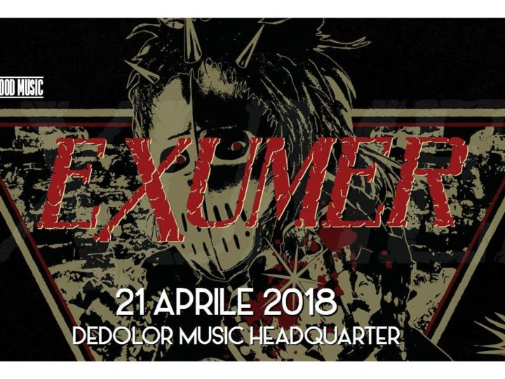 Exumer + Guest Live @ Dedolor Music Headquarters, Rovellasca (CO)