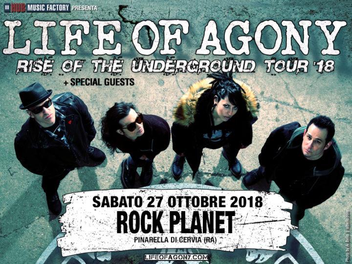Life Of Agony@Rock Planet, Pinarella di Cervia (RA)