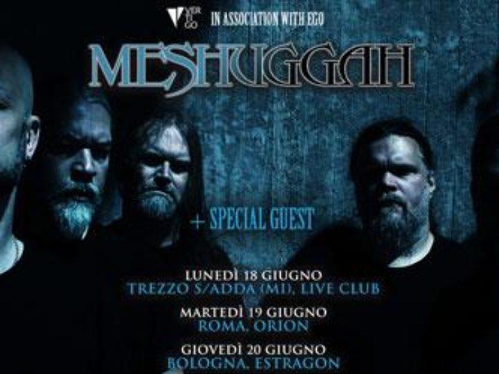 Meshuggah@Orion, Roma