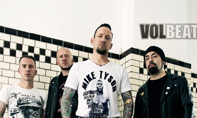 Volbeat, annunciata l'uscita del nuovo album ed il singolo con un tour in Europa e UK