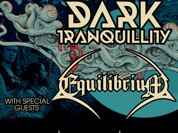 Dark Tranquillity + Equilibrium + Black Therapy@Largo Venue, Roma