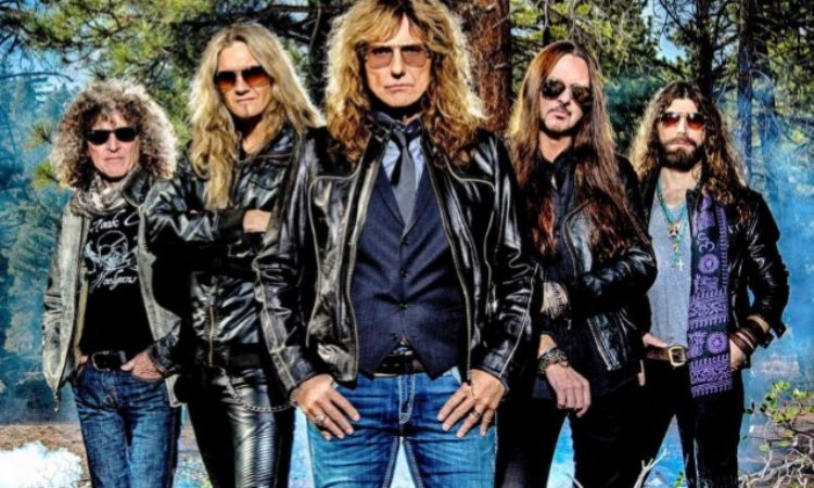 Whitesnake, lo slideshow video del brano 'Comin' Home'
