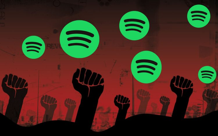 Caos Spotify: 10 euro per la musica? Meglio andare a puttane…