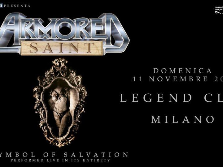 Armored Saint@Legend Club, Milano