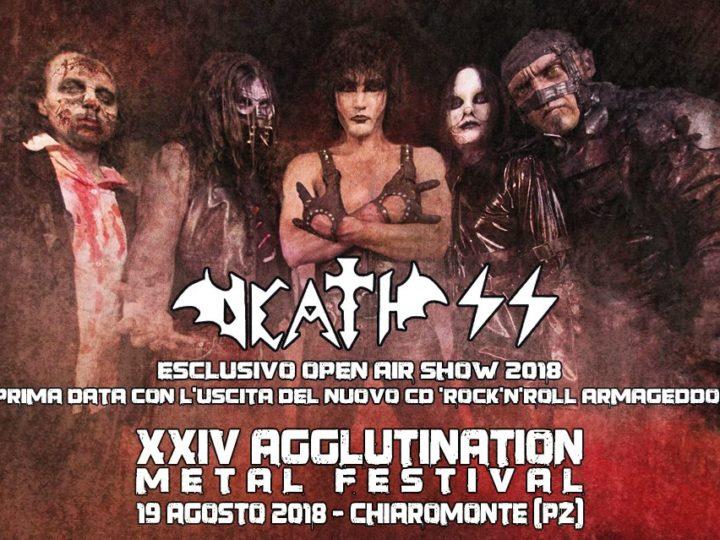 XXIV Agglutination Metal Festival con Death SS, Necrodeath, Pestilence + more@Chiaromonte, Potenza