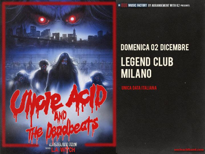 Uncle Acid & The Deadbeats@Legend Club (MI)