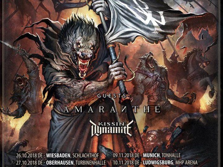 Powerwolf + Amaranthe + Kissin' Dynamite@Live Club, Trezzo sull'Adda (MI)