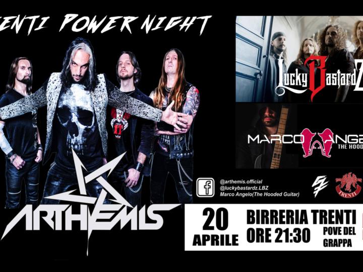 Arthemis + Lucky Bastardz + Marco Angelo live @ Birreria Trenti, Pove Del Grappa (Vi)