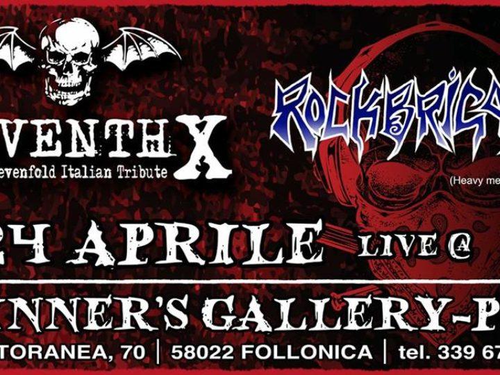 Rock Brigade + Seventh X live @ Winner's-Gallery Pub, Follonica