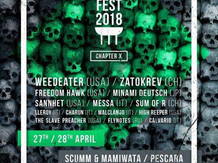 Tube Cult Fest 2018 @ Scumm, Pescara
