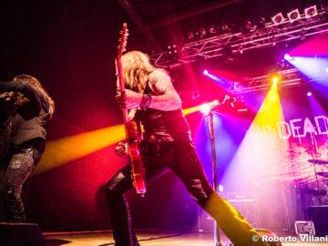 The Dead Daisies + The New Roses @Live Club – Trezzo sull'Adda (MI), 9 maggio 2018