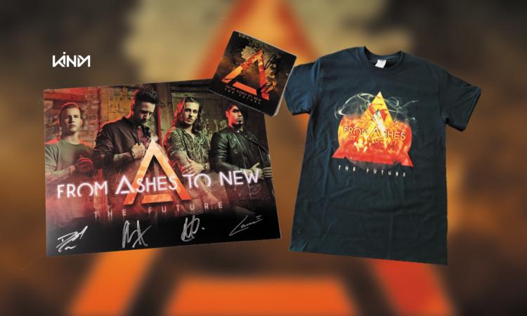 Contest, vinci t-shirt, poster e cd autografato di 'The Future' dei From Ashes To New