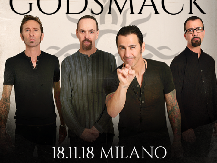 Godsmack@Magazzini Generali, Milano