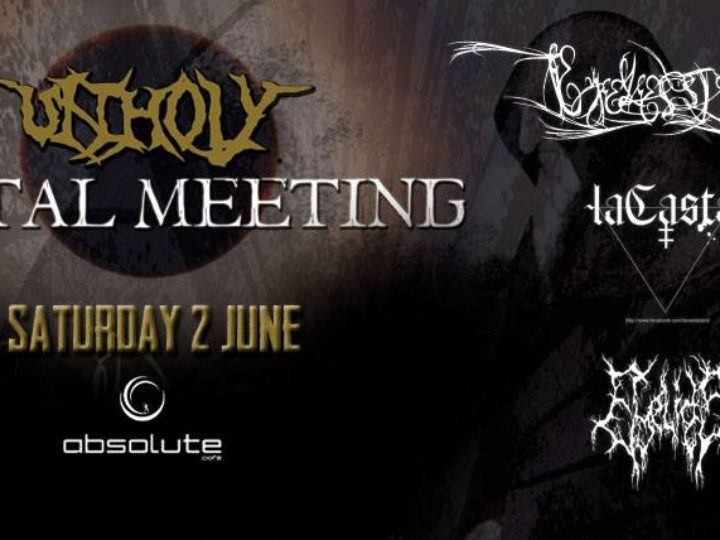 Eyelessight, all'Unholy Metal Meeting con laCasta e Eyelids