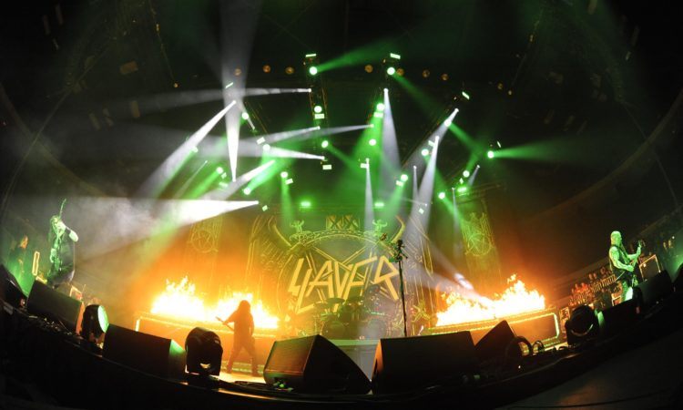 Slayer, video integrale del concerto a Bristow
