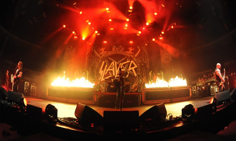 Slayer, esteso il final world tour al 2019