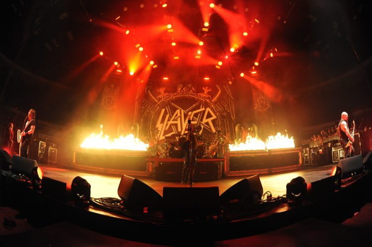 Slayer @Valley View Casino Center – San Diego (USA), 10 maggio 2018