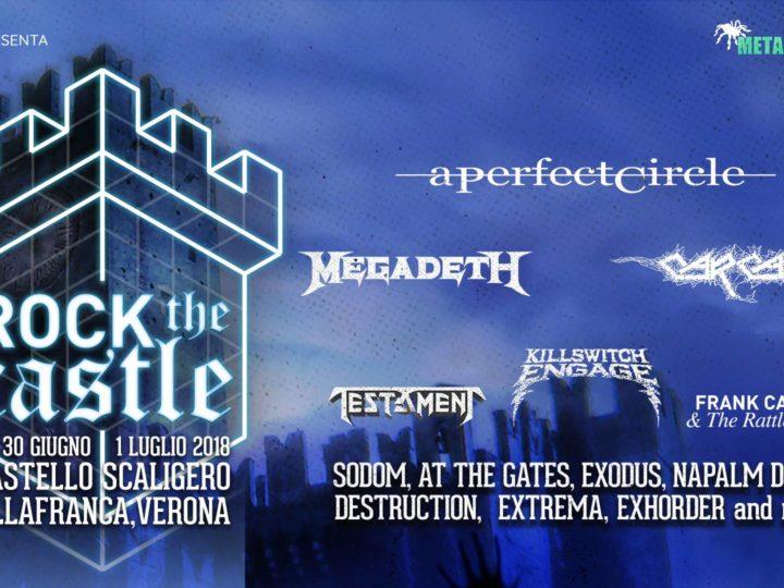 Rock The Castle, gli orari ufficiali