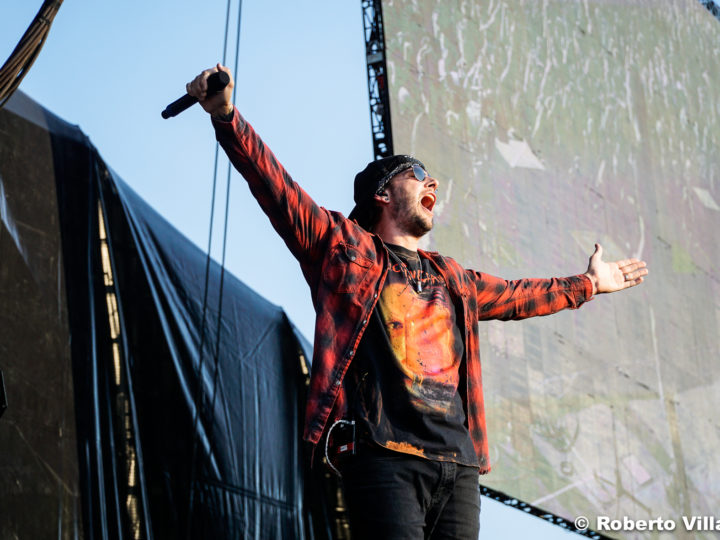 Avenged Sevenfold, video live di 'Hail To The King'