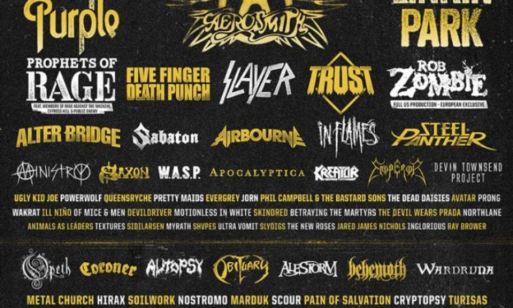 Opeth, Steel Panther, condivisi i video professionali dello show all'Hellfest 2017