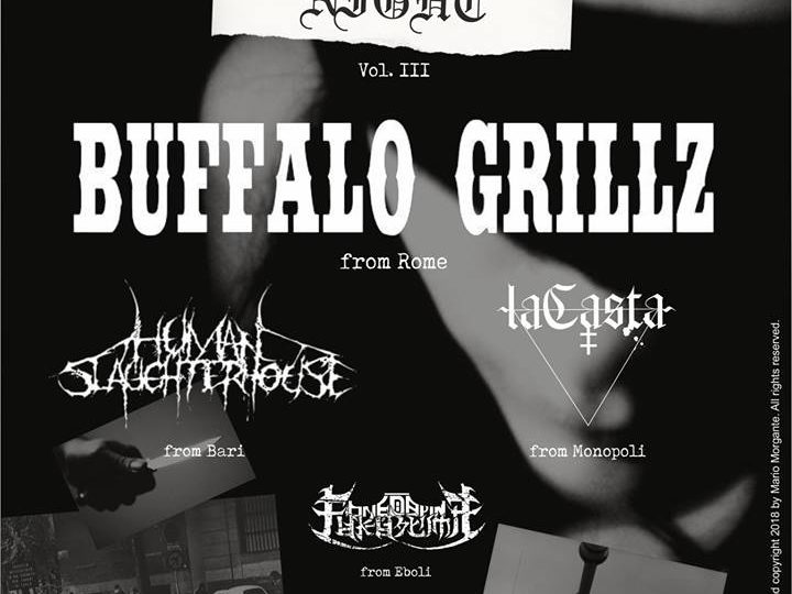 Buffalo Grillz + Human Slaughterhouse + laCasta + One Day In Fukushima live @ Country House, Rutigliano (BA)