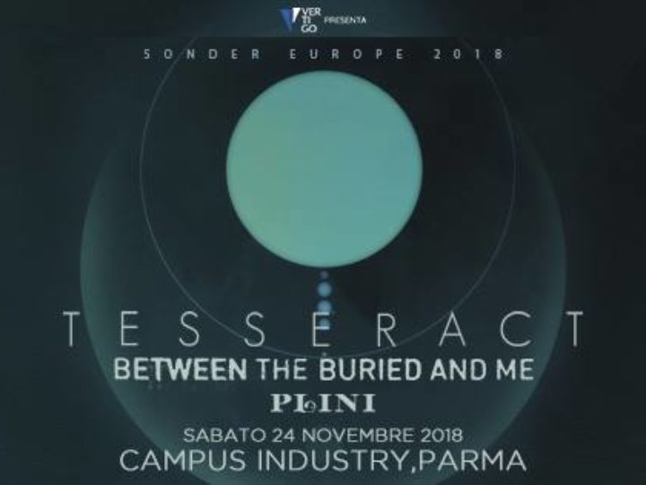TesseracT +more @Campus Industry Music, Parma