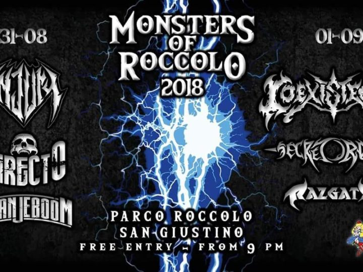 Monsters of Roccolo 2018 live @ Parco Roccolo di San Giustino (PG)