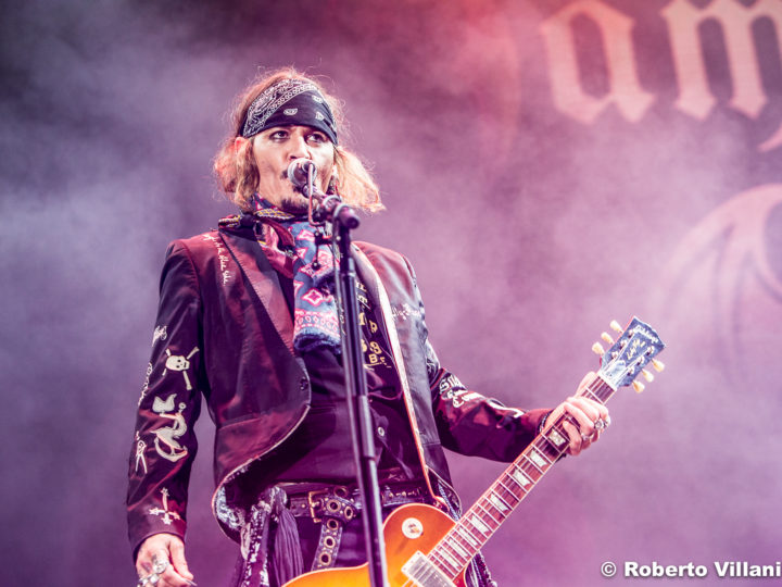Hollywood Vampires @Lucca Summer Festival – Lucca, 7 luglio 2018