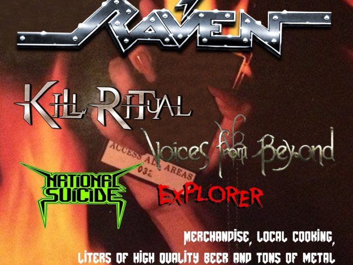Raven + Kill Ritual and more live @ Happy Ranch, Cembra (TN)