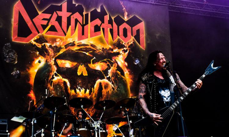 Destruction, video di 'Curse The Gods' estratto dal nuovo live album 'Born To Thrash – Live In Germany'