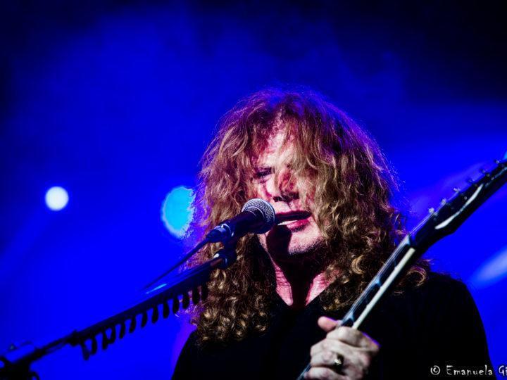 Megadeth, la foto di Dave Mustaine durante la registrazione del nuovo disco