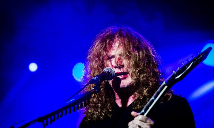 Megadeth, i video live del ritorno di Dave Mustaine dopo la malattia