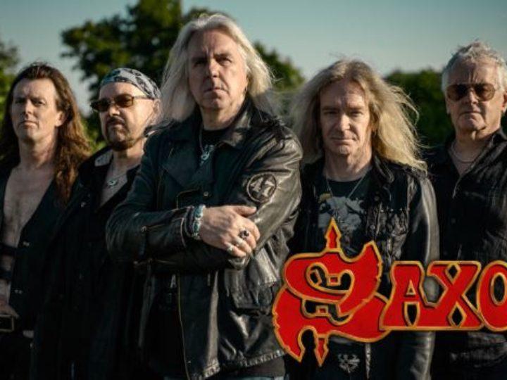 Saxon, la special tour edition del loro ultimo album 'Thunderbolt'