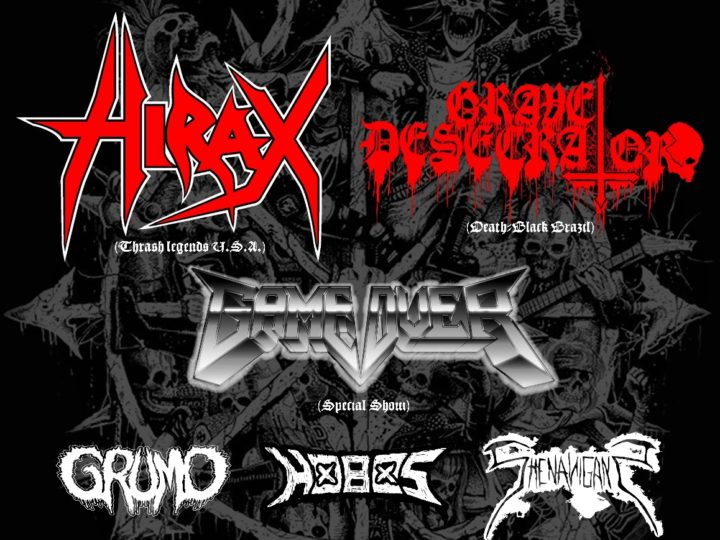The Underground Alliance Fest: Hirax + Grave Desecrator + Game Over and more live @