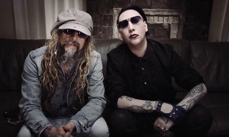 Rob Zombie e Marilyn Manson, cover dei The Beatles per promuovere tour nordamericano da co-headliner