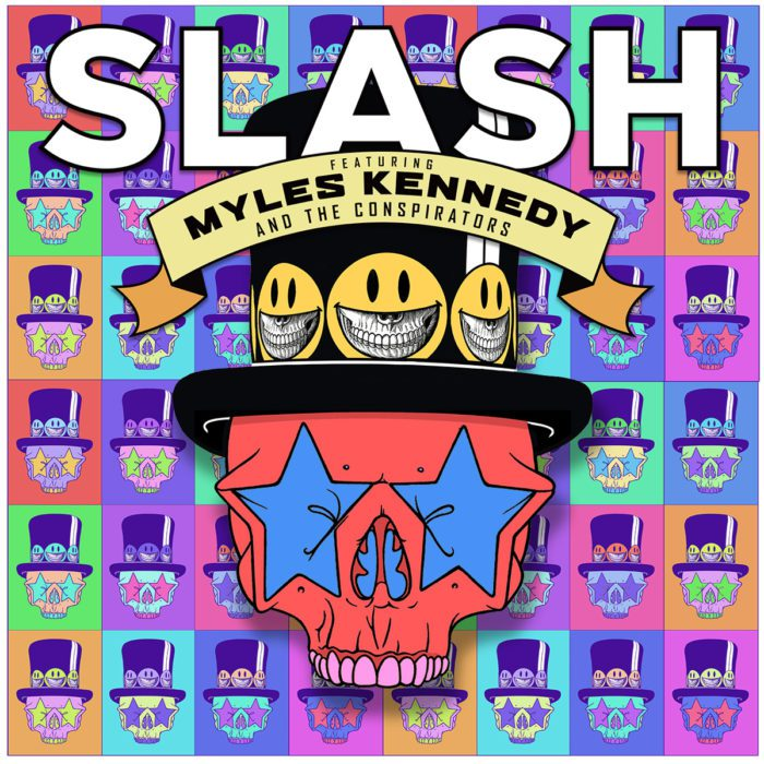 Slash Feat. Myles Kennedy & The Conspirators – Living The Dream