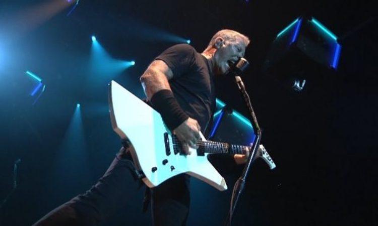 Metallica, live video in HQ di 'Seek & Destroy'