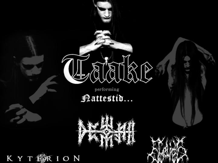 Metal Symposyum: Taake + Dewfall +  Kyterion + Eylids live @ Demodé Club, Modugno (BA)