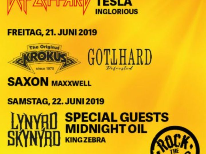 ROCK THE RING @ Hinwil Betzholz – 20, 21, 22 giugno 2019