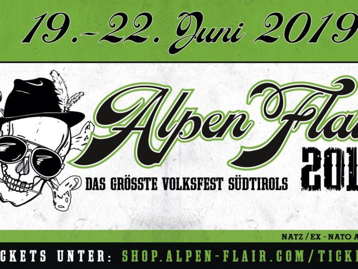 Alpen Flair 2019, aggiunti altri nomi al cartellone