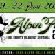 Alpen Flair 2019, ecco il running order